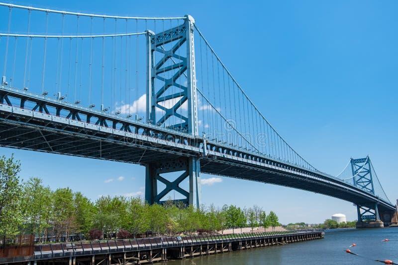 Benjamin Franklin Bridge στοκ εικόνες