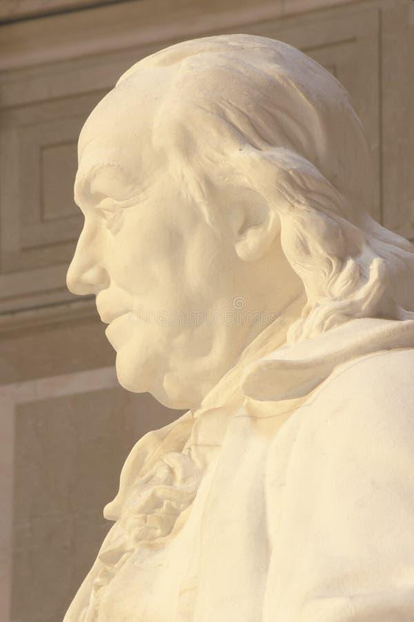Benjamin Franklin Minnesmärke Royaltyfria Bilder