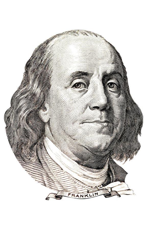 Download Benjamin Franklin portrait stock photo. Image of great - 22494876