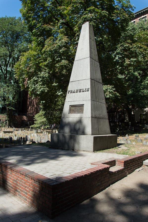 Benjamin Franklin-` s Monument stockfotografie