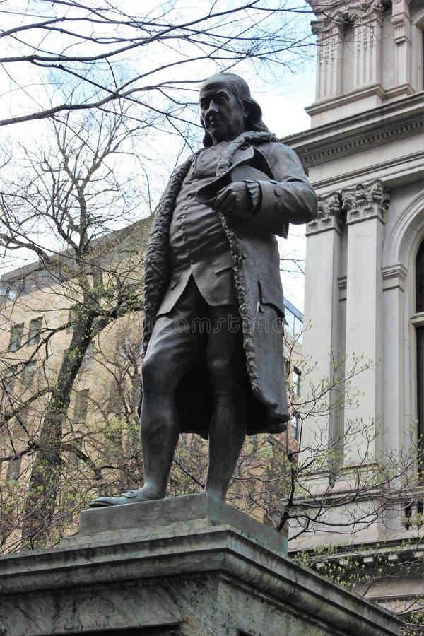 Benjamin Franklin, traccia di libertà, Boston immagine stock