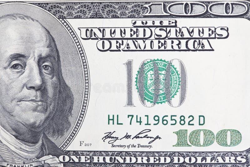 Benjamin Franklin Upclose images libres de droits
