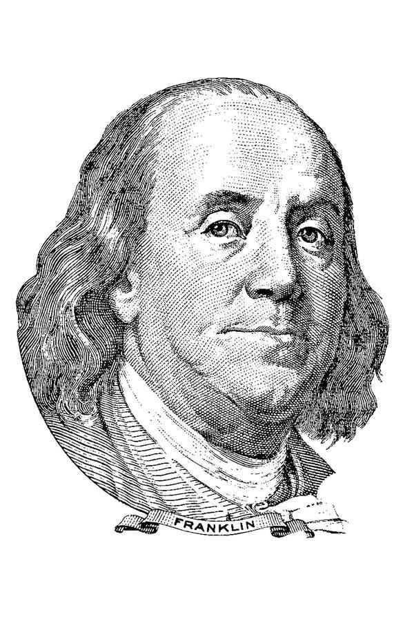 Benjamin Franklin (Vektor) stock abbildung