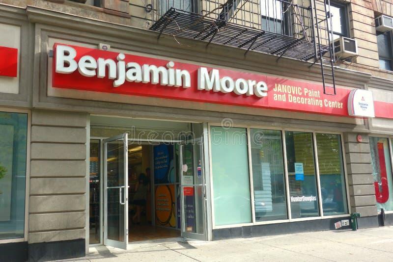 Benjamin Moore Store imagem de stock