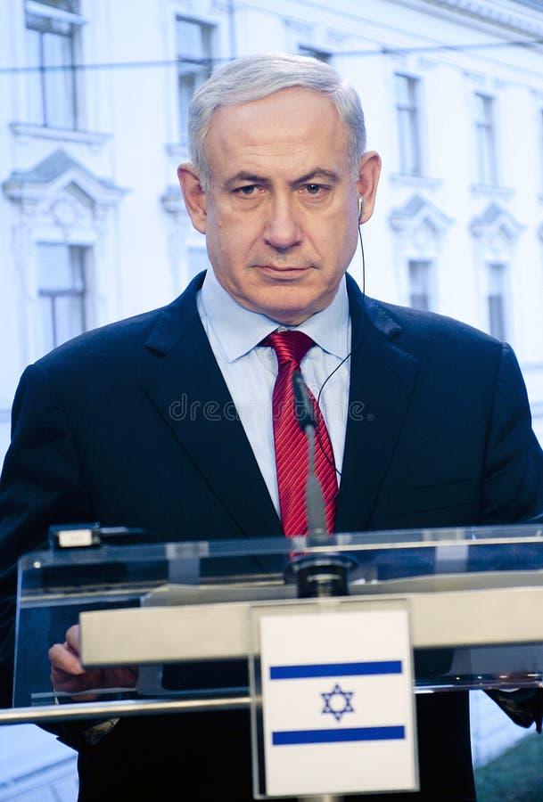 Benjamin Netanjahu royaltyfri foto