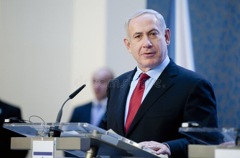 Benjamin Netanjahu royaltyfri fotografi
