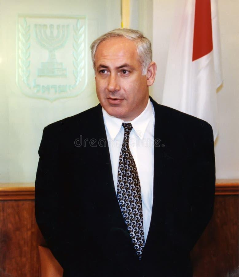 Benjamin Netanyahu arkivbilder