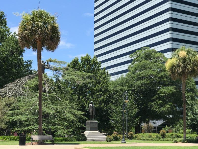 Benjamin Ryan Tillman Monument på den södra Carolina State House Grounds royaltyfria bilder