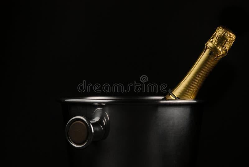 Benna di Champagne fotografia stock libera da diritti