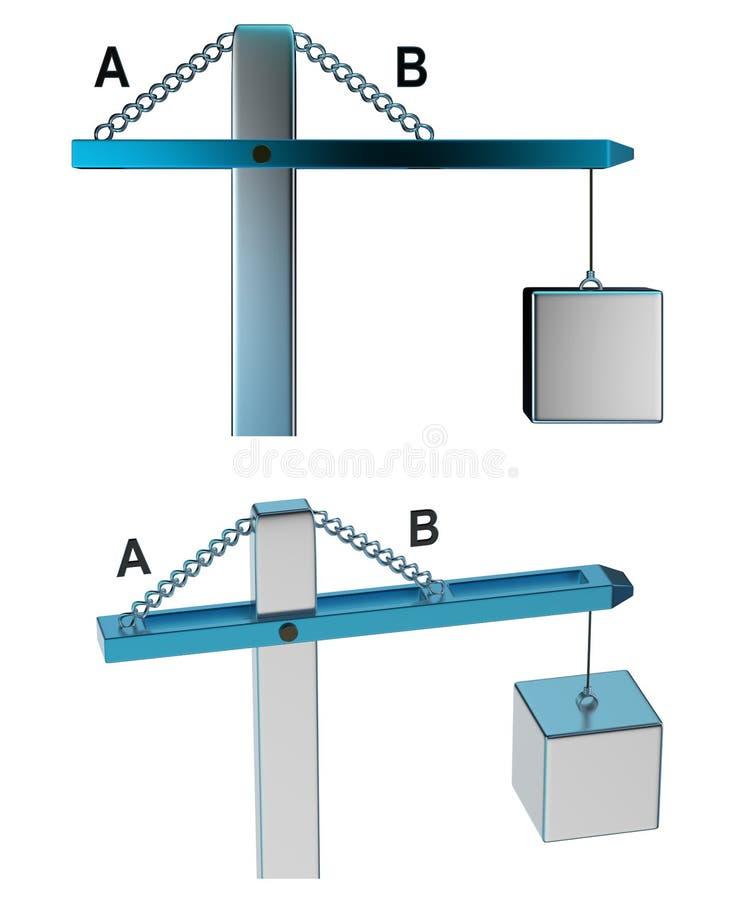 Bennett Test - 06 illustration de vecteur