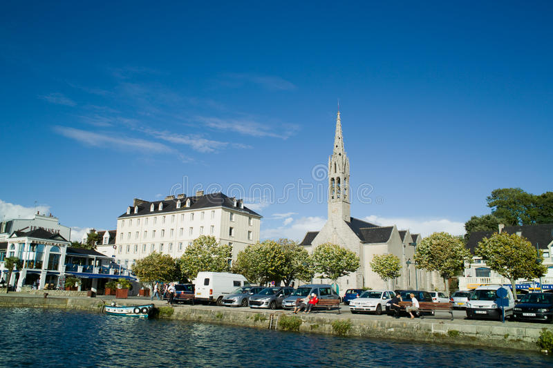 Download Benodet in brittany editorial photography. Image of place - 20765767