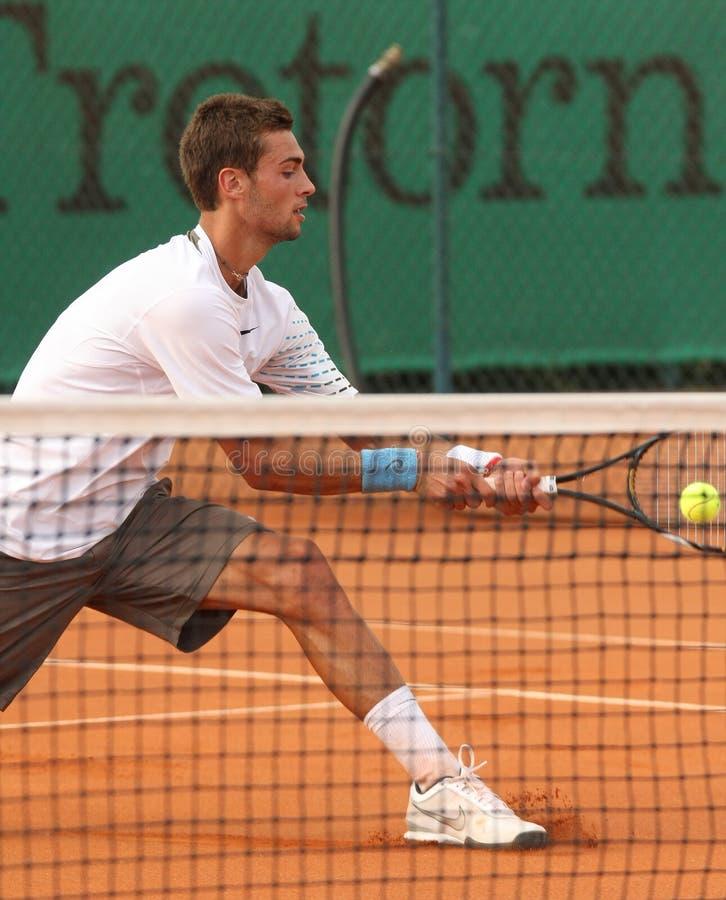 BENOIT PAIRE, ATP TENNIS PLAYER royalty free stock photo