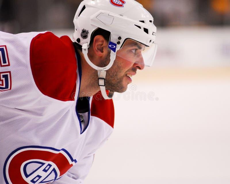 Benoit Pouliot, Μόντρεαλ Canadiens στοκ φωτογραφία
