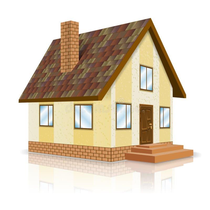 Bens imobiliários ilustração royalty free