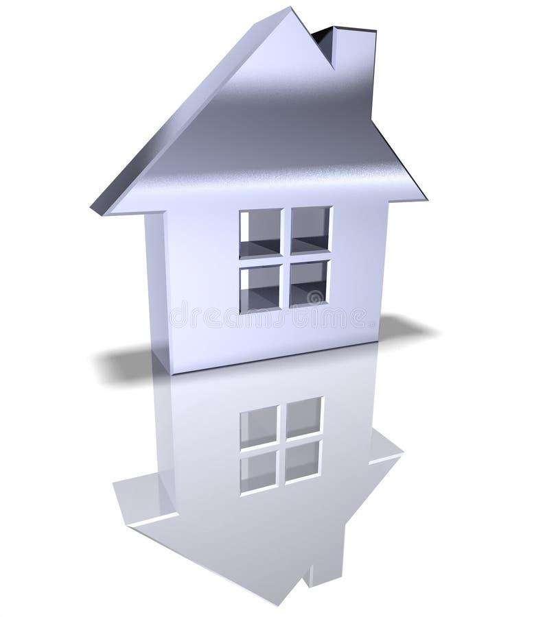 Bens imobiliários ilustração do vetor