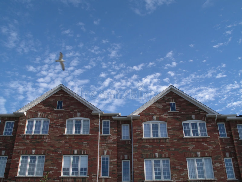 Bens imobiliários novos em Toronto foto de stock royalty free