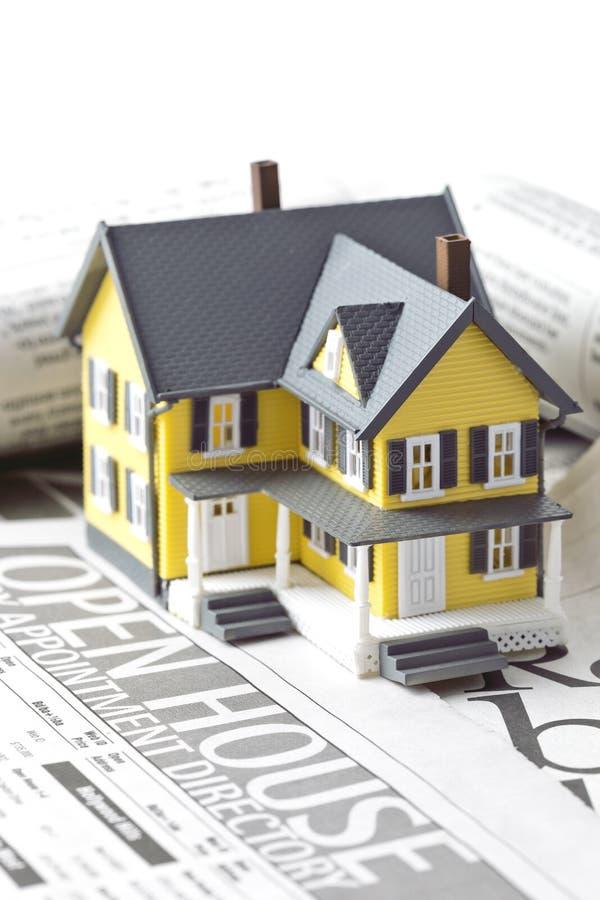 Bens imobiliários para a venda imagem de stock