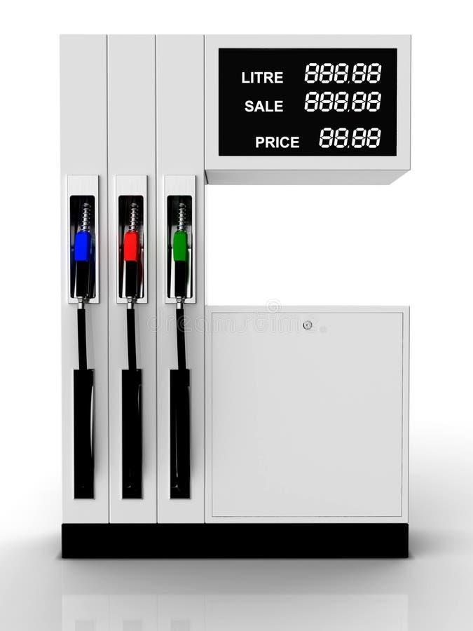 bensinstation vektor illustrationer