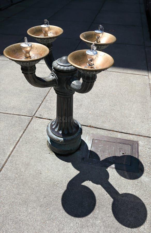 Benson Bubbler, Portland foto de stock