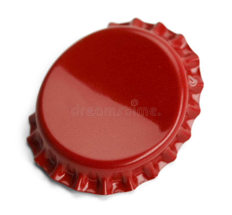 Bent Bottle Cap photo libre de droits