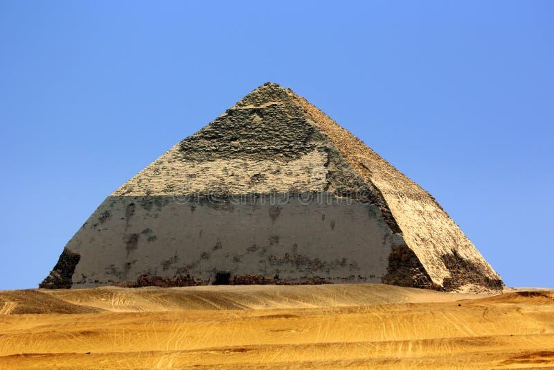 Bent Pyramid foto de stock royalty free