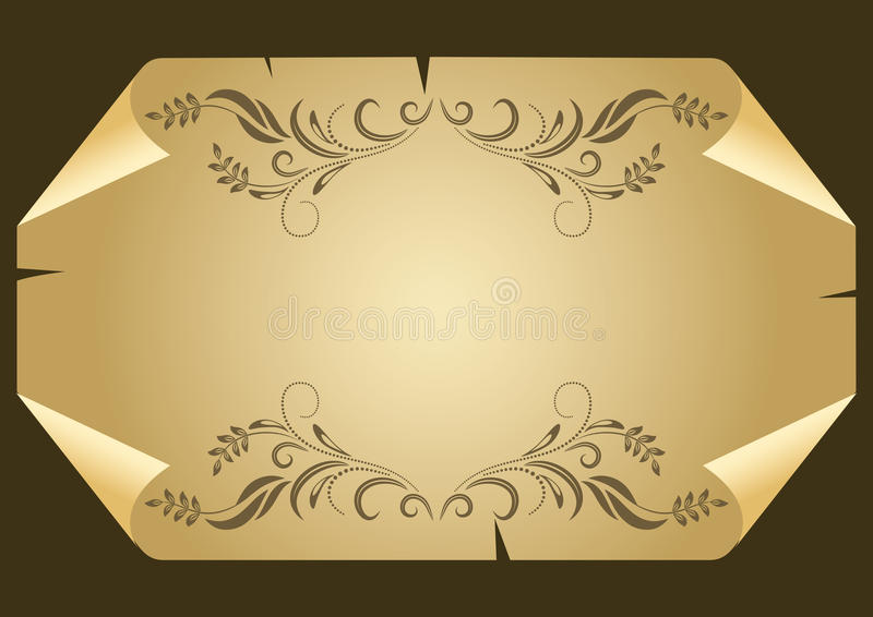 Download Bent sheet of paper stock vector. Illustration of paper - 14965985