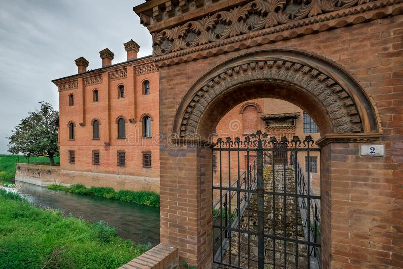 Bentivoglio, Μπολόνια, Αιμιλία-Ρωμανία, Ιταλία στοκ εικόνα με δικαίωμα ελεύθερης χρήσης