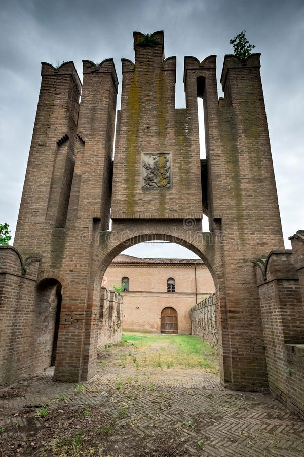 Bentivoglio, Μπολόνια, Αιμιλία-Ρωμανία, Ιταλία στοκ εικόνες