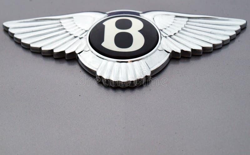 bentley徽标 免版税库存照片
