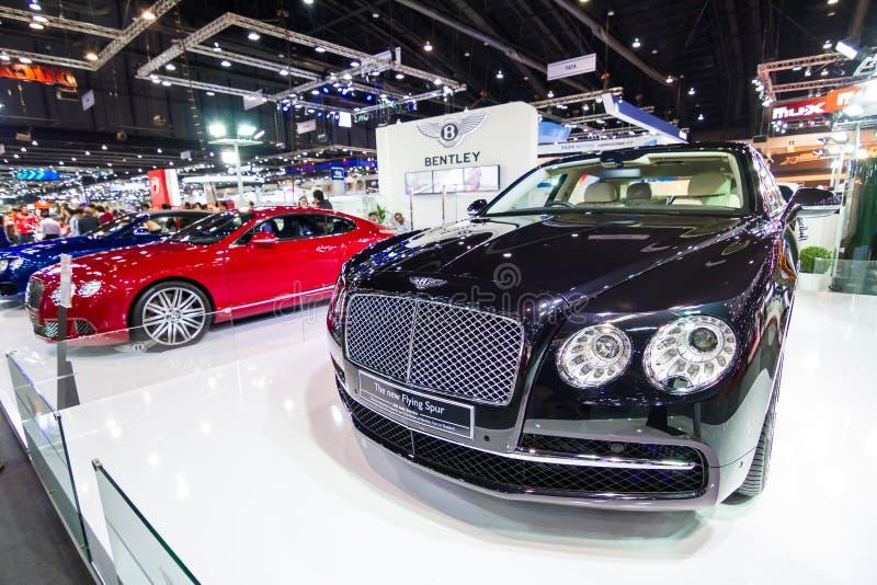 Bentley το νέο πετώντας αυτοκίνητο κεντρισμάτων στοκ φωτογραφία με δικαίωμα ελεύθερης χρήσης