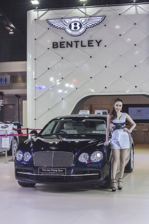 Bentley το νέο πετώντας αυτοκίνητο κεντρισμάτων στοκ εικόνες με δικαίωμα ελεύθερης χρήσης