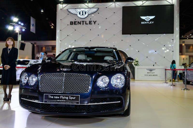 Bentley το νέο πετώντας κέντρισμα. στοκ φωτογραφία