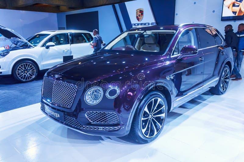 Bentley Bentayga fotografie stock libere da diritti