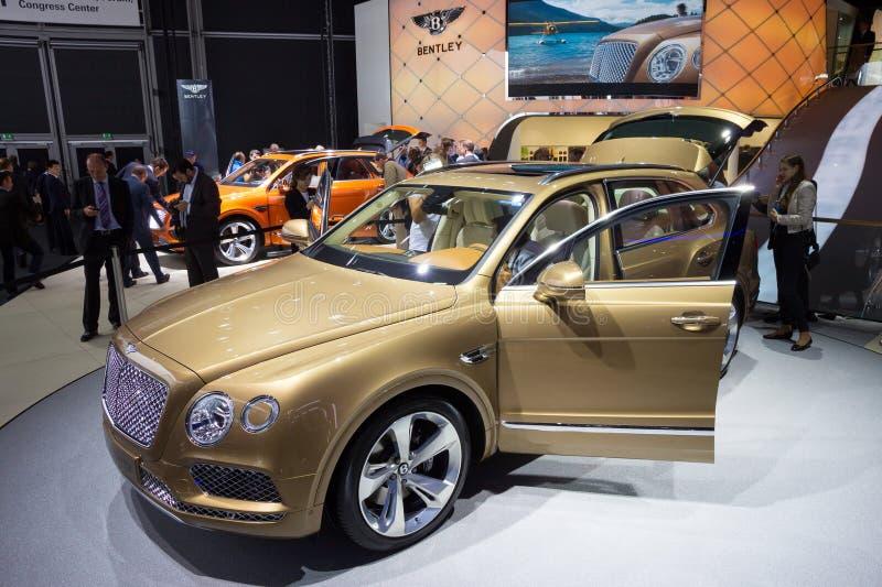 Bentley Bentayga immagine stock
