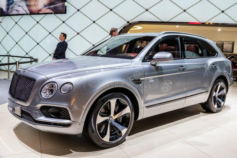 Bentley Bentayga bil royaltyfri foto