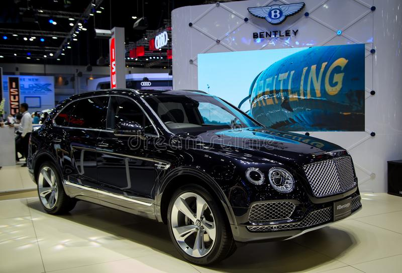 Bentley Bentayga Fastest SUV stockfotos