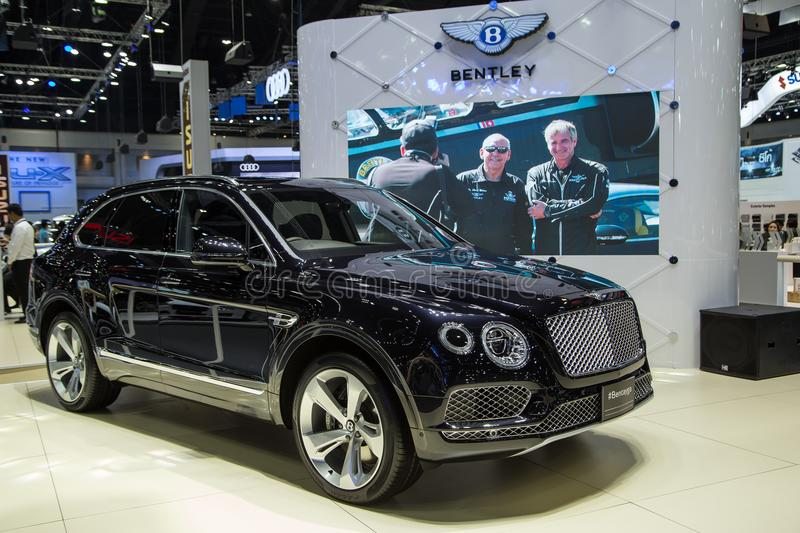 Bentley Bentayga Fastest SUV stockfoto