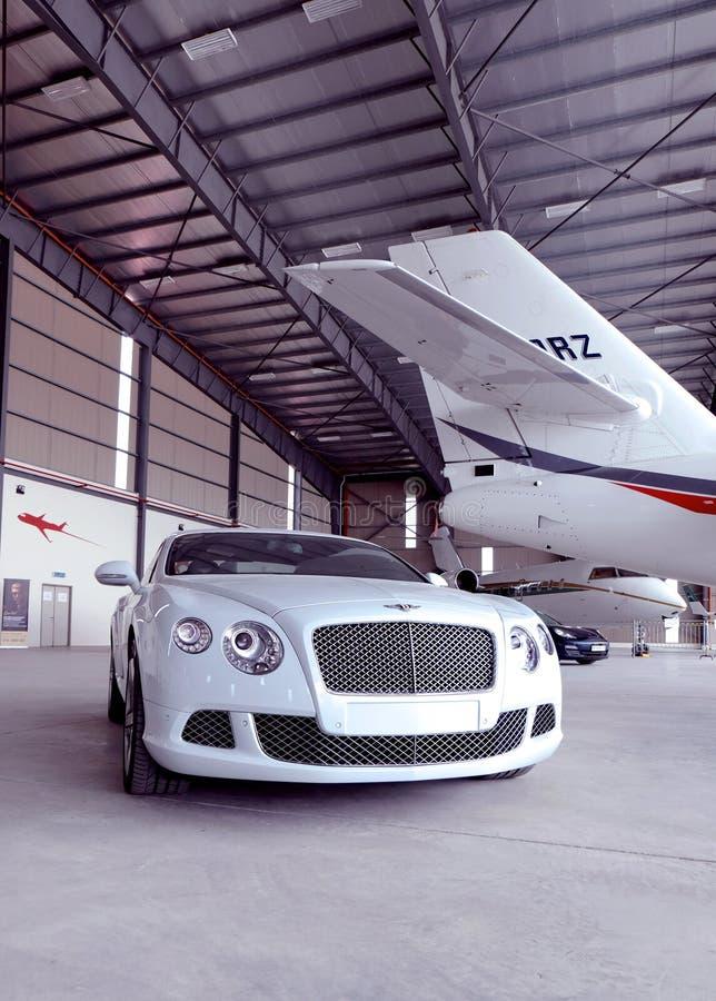 Bentley bil fotografering för bildbyråer