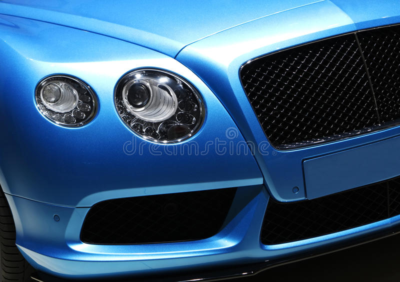 Bentley Car. Show in Auto China 2014 royalty free stock photos
