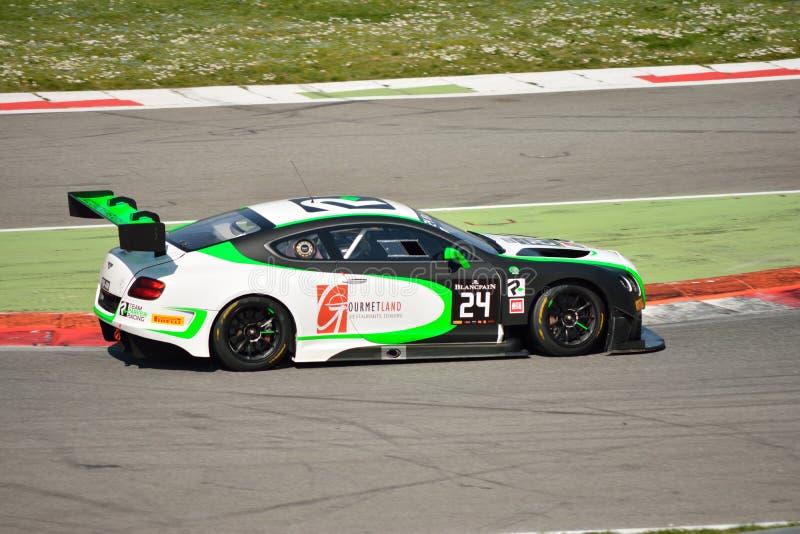Bentley Continental GT3 Blancpain GT Endurance Series royalty free stock photo