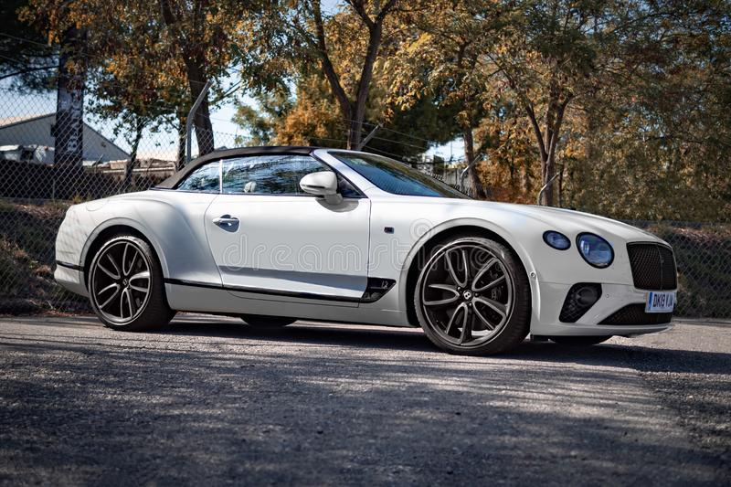 Bentley Continental GT convertible W12 photographie stock