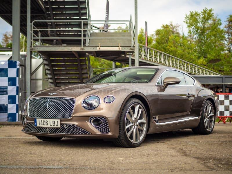 Bentley Continental GT W12 fotos de stock royalty free