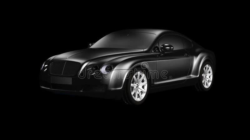 Bentley coupe stock photography