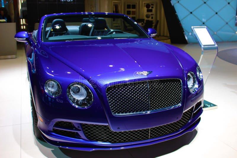Bentley 2015 an Detroit-Automobilausstellung stockbild