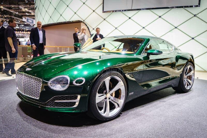 Bentley EXP 10, Motor Show Geneve 2015. Bentley EXP 10 Speed 6 Concept at the 85th International Geneva Motor Show in Palexpo, Switzerland. Photo taken on stock image