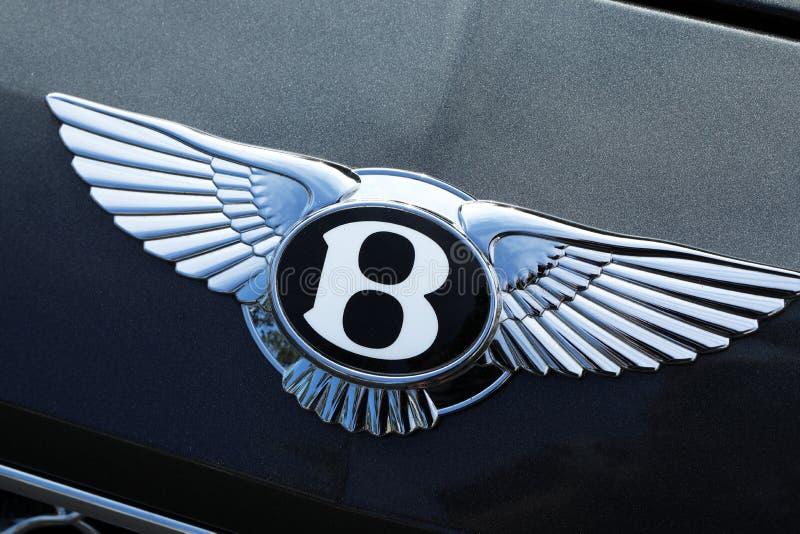 Bentley Famous Logo lizenzfreies stockfoto