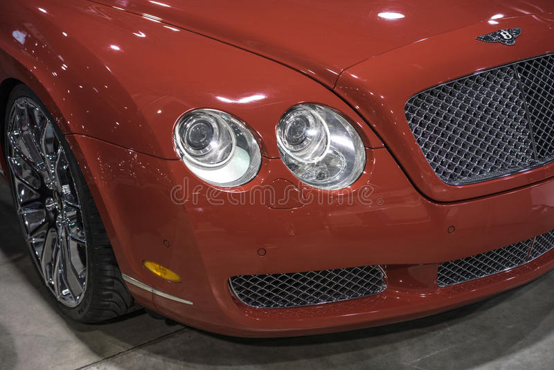 Bentley front end royalty free stock photography