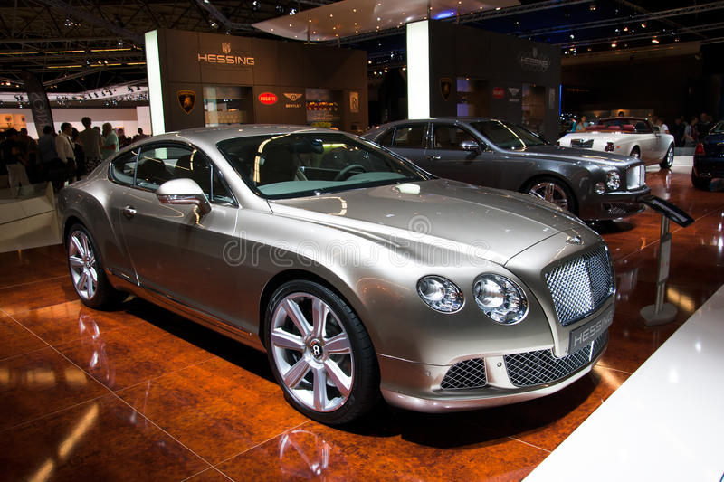 Bentley GT continental images stock