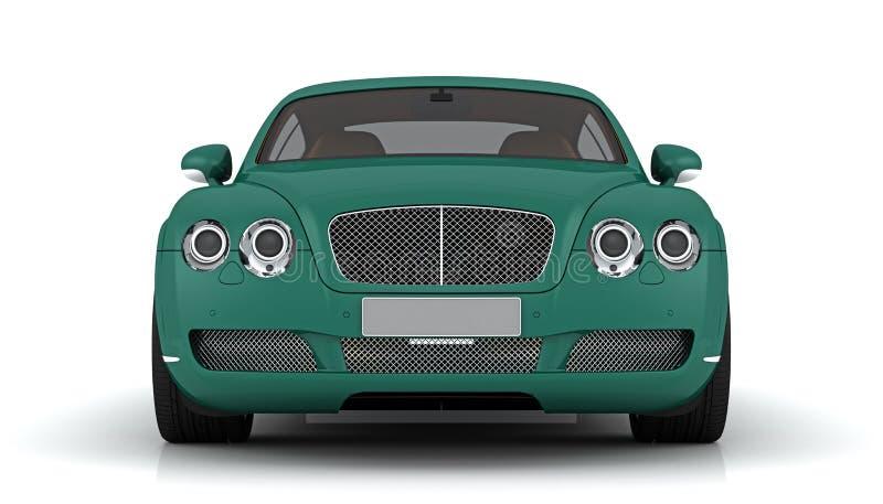 Bentley GT continental illustration stock