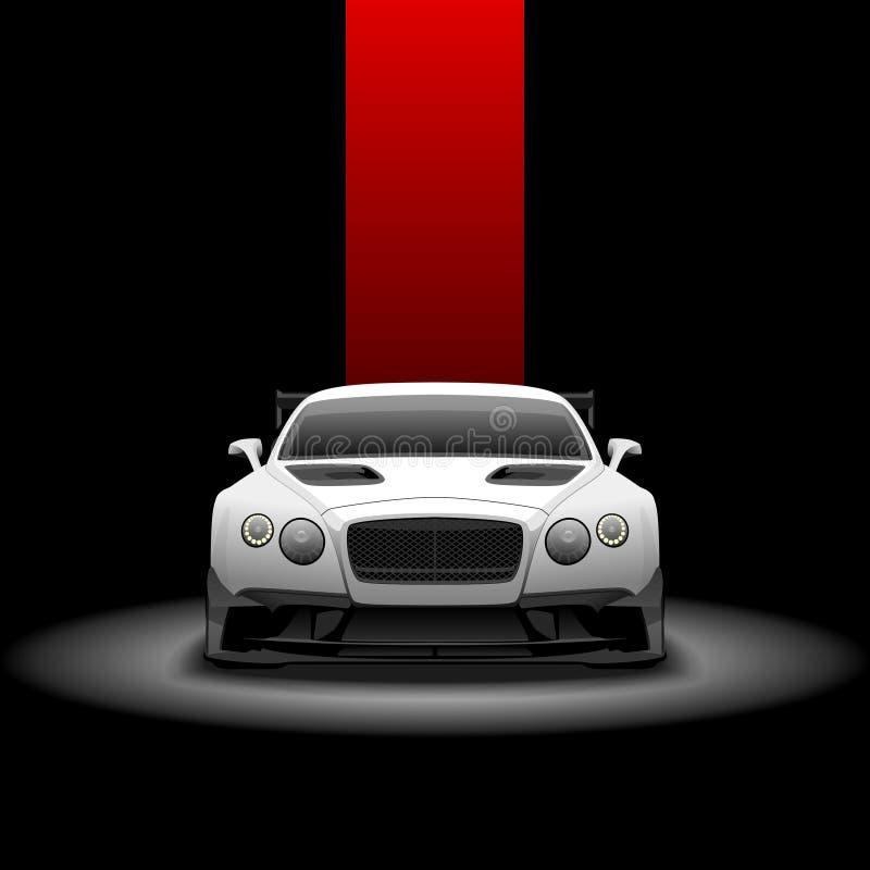 Bentley GT3 continental illustration de vecteur